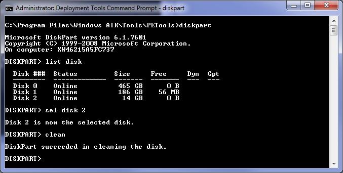 Windows bu diske yüklenemez
